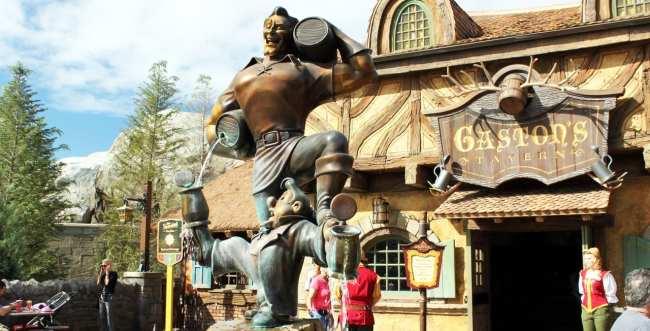 Guia completo de Orlando - Gaston na New Fantasy Land