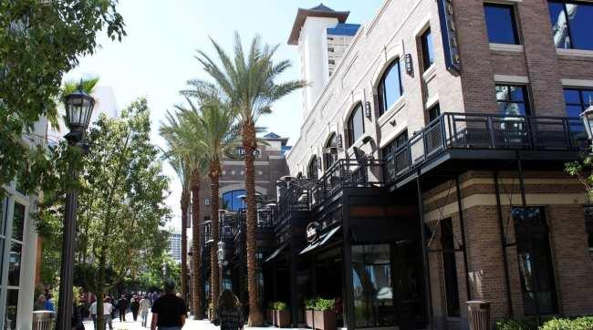 Las Vegas The LINQ - Lojas e restaurantes