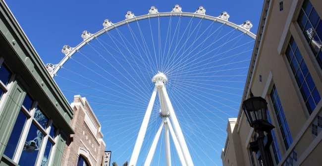 Las Vegas The LINQ - High Roller vista das lojas