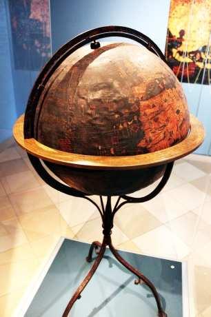 Museu Nacional Germânico de Nuremberg - Globo Terrestre de Behaim