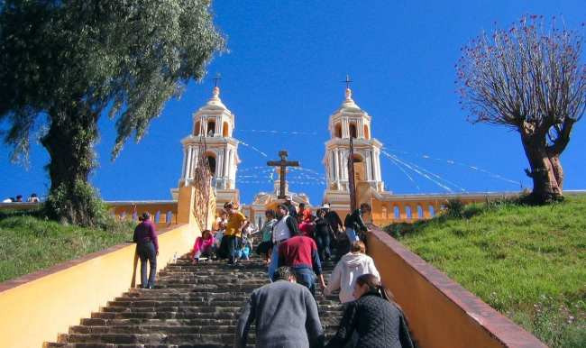 Puebla - Santuário de la Virgen de los Remedios