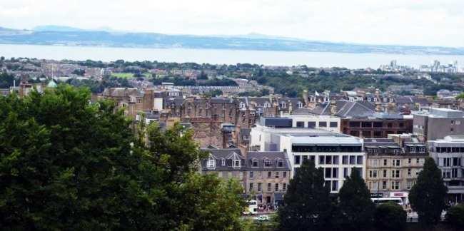 Roteiro de Edimburgo - Vista da Cidade