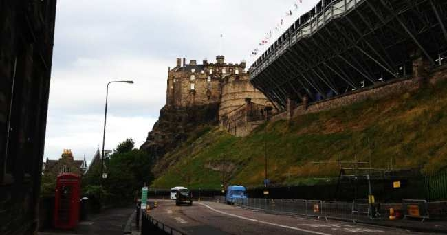 Roteiro de Edimburgo - Vista do Castelo de Edimburgo 2