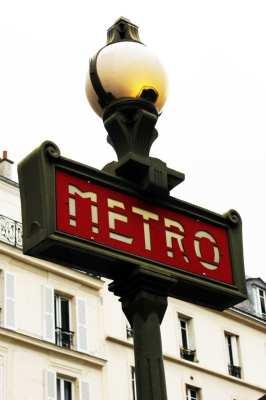 Roteiro de Paris - Metrô