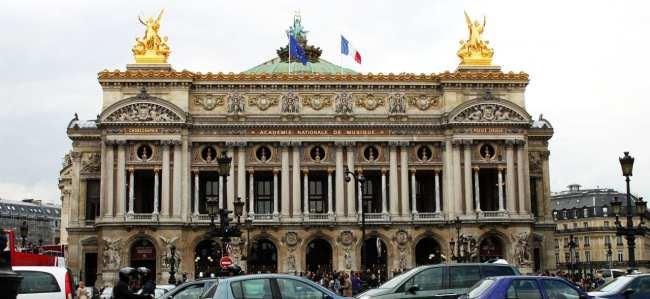 Roteiro de Paris - Ópera Garnier