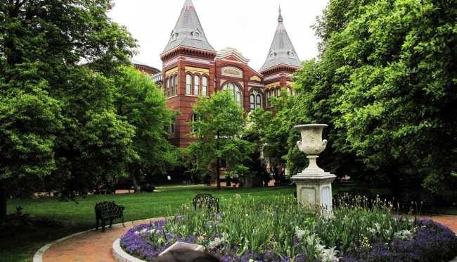 Roteiro de Washington - Smithsonian Institution Jardim