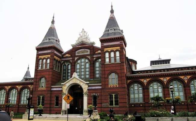 Roteiro de Washington - Smithsonian Institution O Castelo
