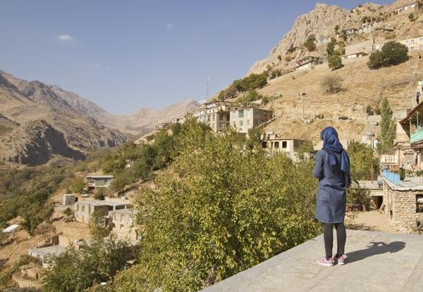 Em Howraman, no Curdistão iraniano