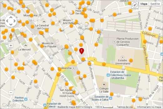 Detecta Hotel - Exemplo de Mapa