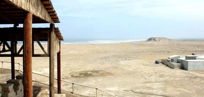 Internet 3G no Peru - Complexo El Brujo entre Trujillo e Chiclayo