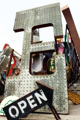 The Mob Museum e Neon Museum de Las vegas - Letreiros luminosos 2