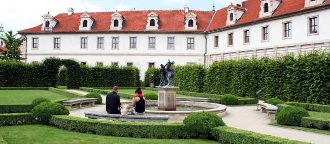 Malá Strana Praga - Parque Vojan (Vojanovy sady)