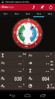 Melhor app de mapas offline - OruxMaps Radar 2