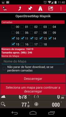 Melhor app de mapas offline - OruxMaps Download de mapas 1