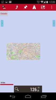 Melhor app de mapas offline - OruxMaps Zoom nível 11