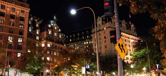 Onde ficar em Washington - Noite