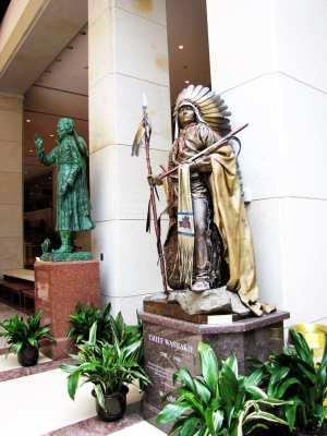 Capitólio de Washington - Estátuas dos estados no Visitor's center