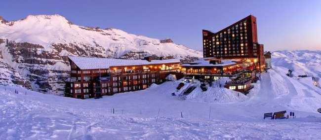 Guia de Valle Nevado - Hotel na montanha