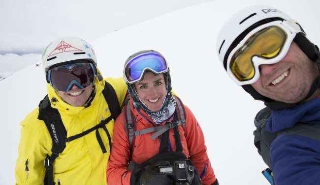 Guia de Valle Nevado - esquiadores
