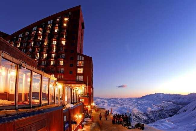 Guia de Valle Nevado - Hotel