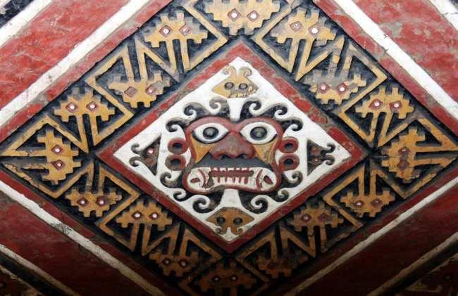 Sítios Arqueológicos de Trujillo - Huaca de la Luna 3 Deus da montanha
