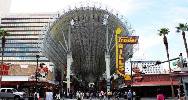 Walking Tour Downtown Vegas - Vista do bairro 2