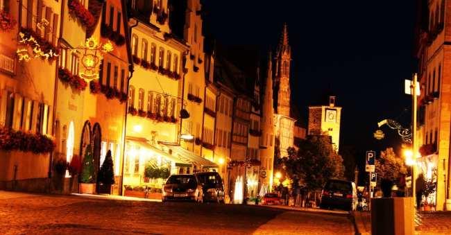 Rothenburg - Noite na cidade