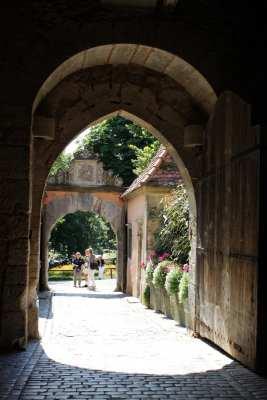 Rothenburg - Portões antigos