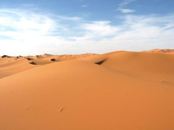 Erg Chebbi, as maiores dunas do Marrocos - Foto: Gabriel Prehn Britto