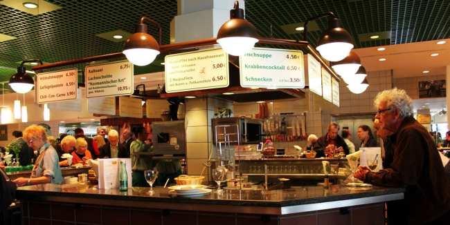 Rogacki Deli em Berlim - Um dos restaurantes