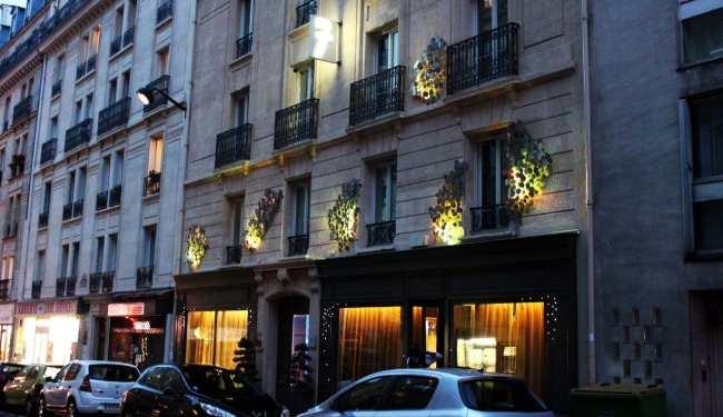 Seven Hotel em Paris - Fachada