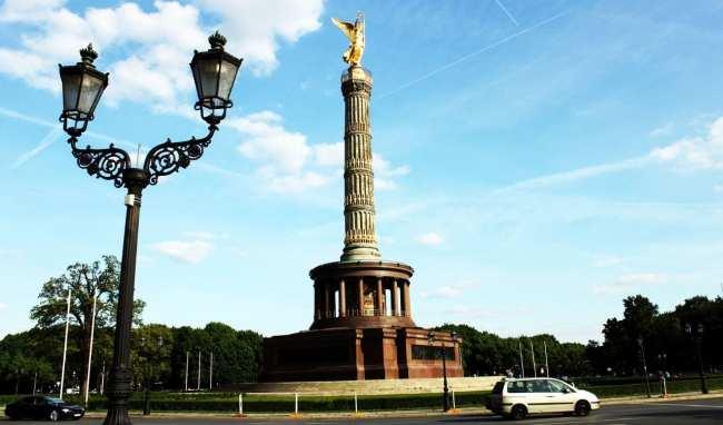 Tiergarten de Berlim - Siegessäule