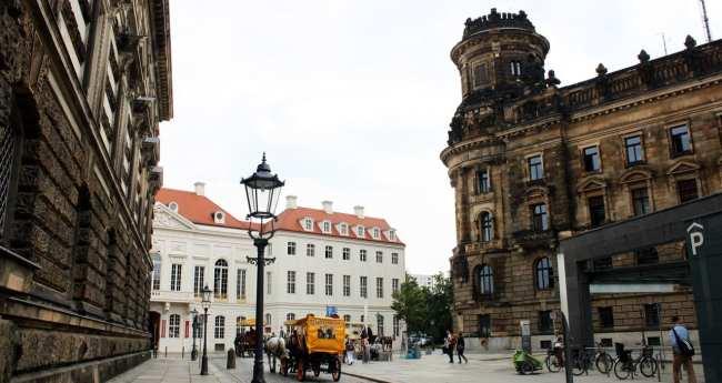 Dicas de viagem a Dresden - Cidade Velha Alstadt 2