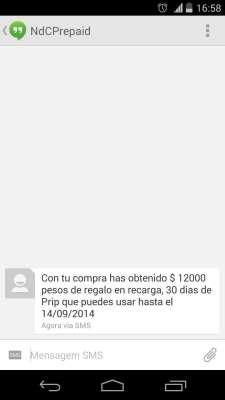 Como conseguir Internet 3G no Chile - Nextel 1