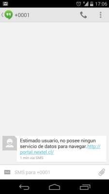 Como conseguir Internet 3G no Chile - Nextel 6