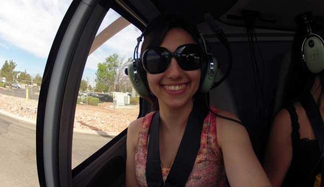 Passeio de helicóptero pelo Grand Canyon perto de Las Vegas - Natalie de copilota