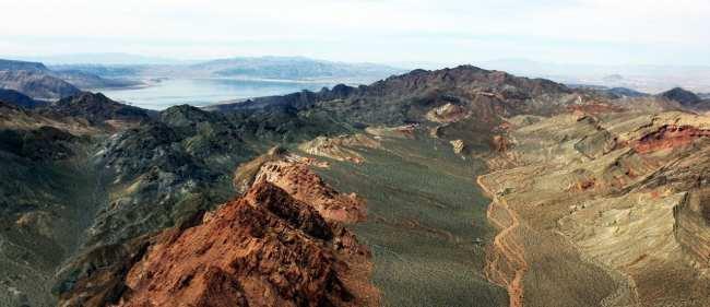 Passeio de helicóptero pelo Grand Canyon perto de Las Vegas - Paisagem 3