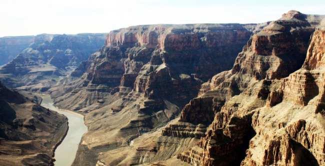 Passeio de helicóptero pelo Grand Canyon perto de Las Vegas - Paisagem 9