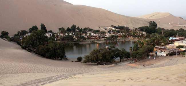 Como ir de uma cidade a outra no Peu - Huacachina Ica