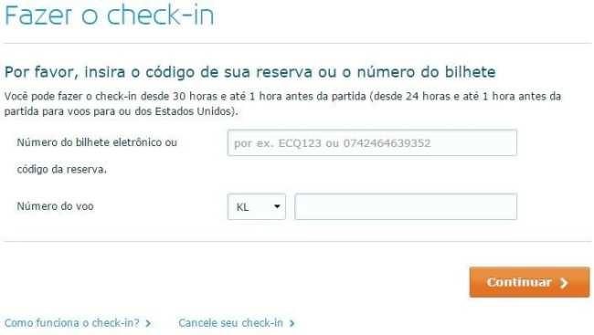 Dicas KLM Viagem - Tecnologia check-in online