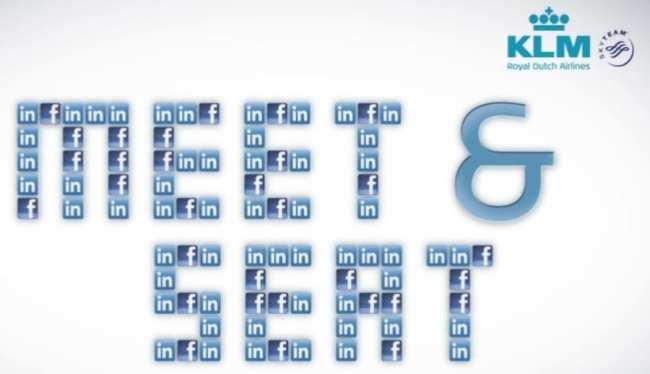 Dicas KLM Viagem - meet & seat
