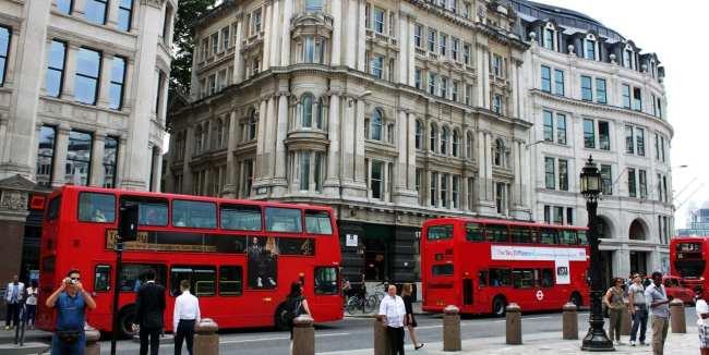 Guia de Londres KLM - ônibus