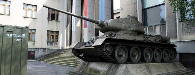 De onde ver Praga do alto - Museu Militar 2