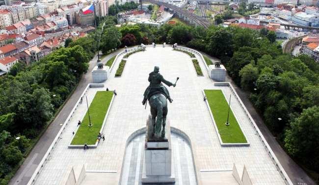 De onde ver Praga do alto - Museu Nacional 4
