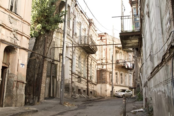 tbilisi cidade velha rua
