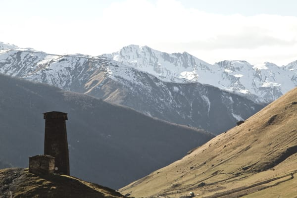 Svaneti Ushguli torre montanha_1