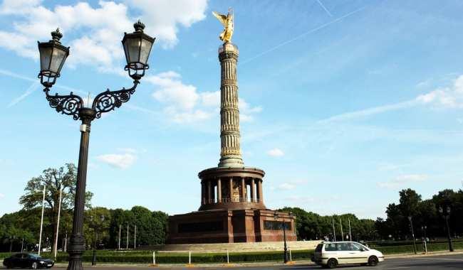 Guia KLM de Berlim - Siegessäule no Tiergarten