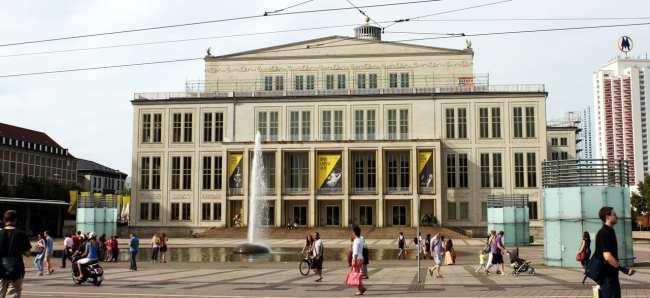 Roteiro de Leipzig - Opera de Leipzig