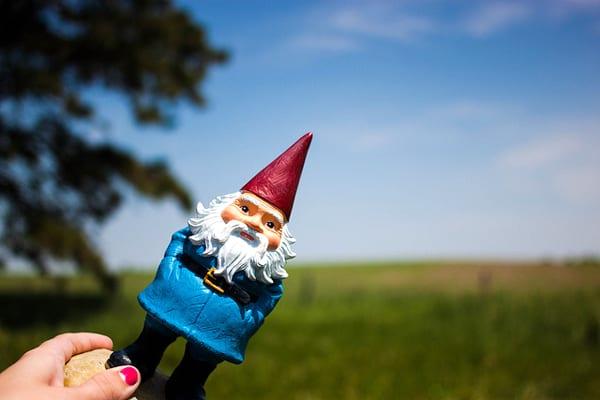 Gnomos: 500 anos de idade e ainda viajando | Foto: Samantha Kulpinski (CC BY-ND 2.0)
