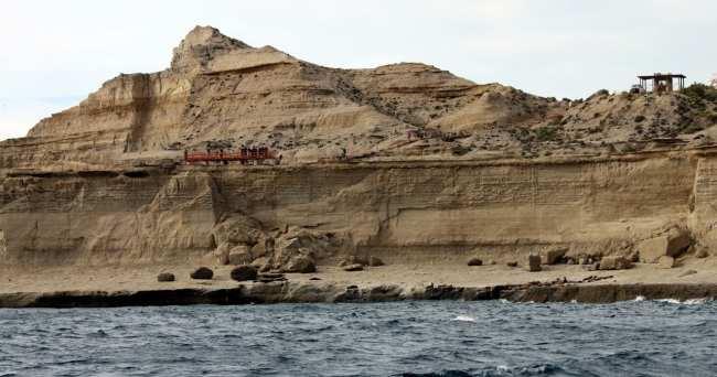 Provincia de Chubut - passeio de barco